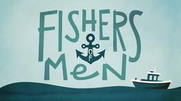 Solitary Boat fishers of men PowerPoint image