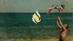 Nostalgic Beach Trip faithlife PowerPoint image