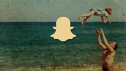 Nostalgic Beach Trip snapchat PowerPoint image