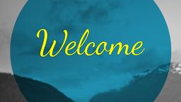 Expansive Nature welcome PowerPoint image
