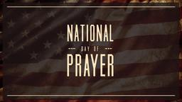 Desaturated Flag national day of prayer PowerPoint Photoshop image