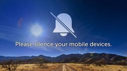 Desert Sky phones PowerPoint image