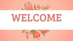 Whimsical Bouquet welcome PowerPoint image