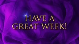Purple Ribbon have a great week! PowerPoint image