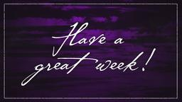 Purple Streaks have a great week PowerPoint image