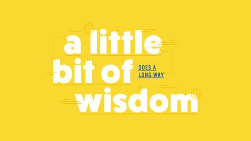 A Little Bit of Wisdom #4 - Wisdom & Leadership