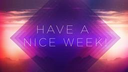 Purplescape have a nice week! PowerPoint image