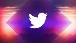 Purplescape twitter PowerPoint image