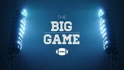 The Big Game  PowerPoint image 1