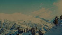 Winter Mountains header subheader PowerPoint image