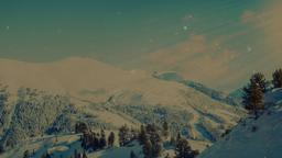 Winter Mountains content a PowerPoint image