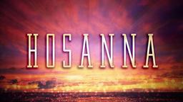 Sunset  Hosanna PowerPoint image