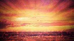 Sunset  Hosanna content a PowerPoint image