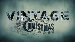 Vintage Christmas PowerPoint image