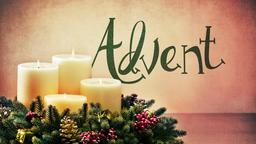 Advent Candles PowerPoint image