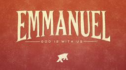 Emmanuel God Is With Us PowerPoint image