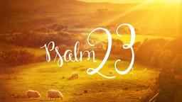 Psalm-23  PowerPoint image 1