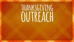 Autumn Tablecloth thanksgiving outreach PowerPoint image