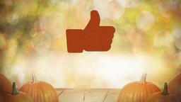 Fall Pumpkin facebook PowerPoint image