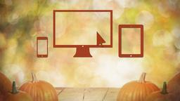 Fall Pumpkin website PowerPoint image