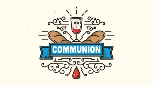 Communion-Blue-Banner