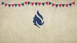 Labor Day Flags faithlife PowerPoint image
