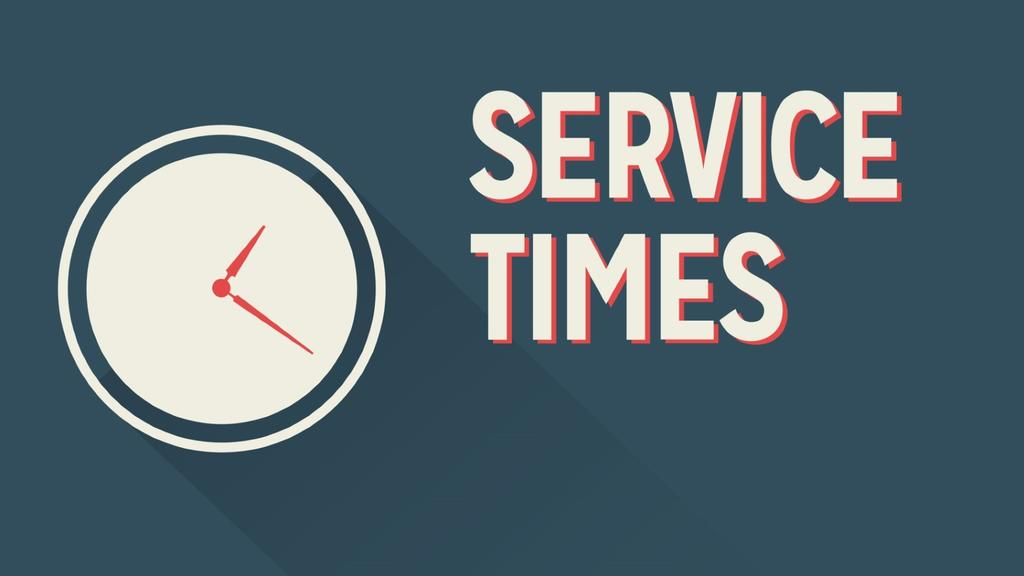 Service Times smart media preview