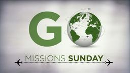Missions-Sunday  PowerPoint image 1