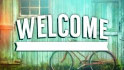 Vintage Summertime welcome PowerPoint image