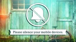 Vintage Summertime phones PowerPoint image
