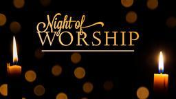 Night of Worship PowerPoint image