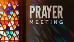 Prayer Meeting PowerPoint image