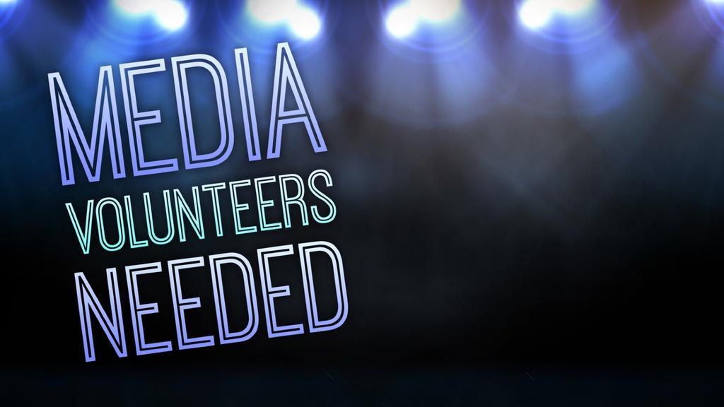 Media Volunteers Lights volunteer announcement smart media preview