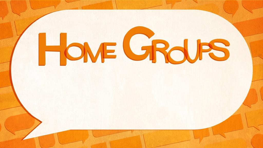 Small Groups Speech Bubbles home group announcement smart media preview