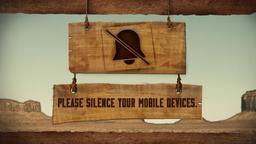 Western Skies phones PowerPoint image