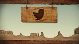 Western Skies twitter PowerPoint image