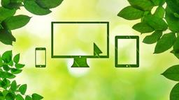 Summer Leaves website PowerPoint image