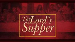 The Lord's Supper PowerPoint image