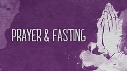 Prayer and Fasting PowerPoint image