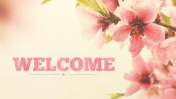 Mother's Day welcome PowerPoint image