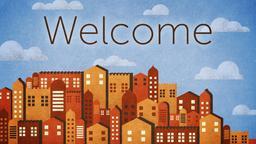 Jerusalem Skyline welcome PowerPoint image