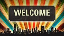 Urban Colorful welcome 2 PowerPoint image