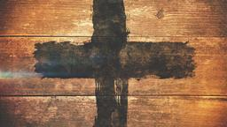 Weathered Cross sermon title PowerPoint image