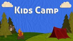 Camp Paperland kids PowerPoint image