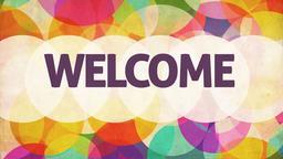 Joyful Jubilation welcome PowerPoint image