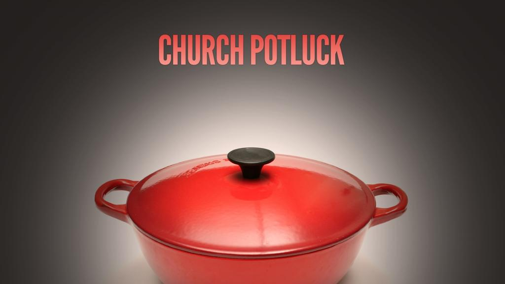 Church Potluck announcement smart media preview