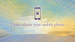 Easter Sunrise phones PowerPoint image
