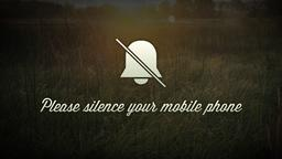 Field Sunrise phones PowerPoint image