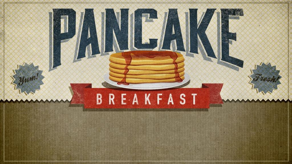 Pancake Breakfast announcement smart media preview