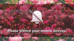 Spring Time phones PowerPoint image